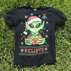 Alien Christmas Shirt